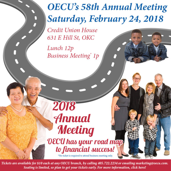 Flyer for OECU 2018 Annual Meeting