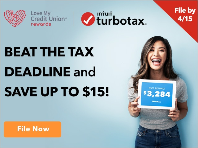 Turbo Tax Discount - Save Up to $15! File taxes now.