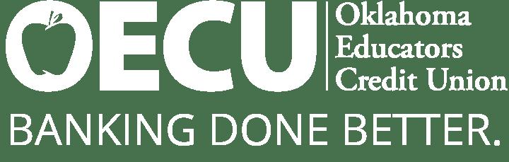 Oklahoma Educators Credit Union, Banking Done Better, Logo.