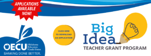 Teacher Grant Program Banner - Click here to download a PDF application.